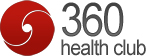 360 Health Club Logo